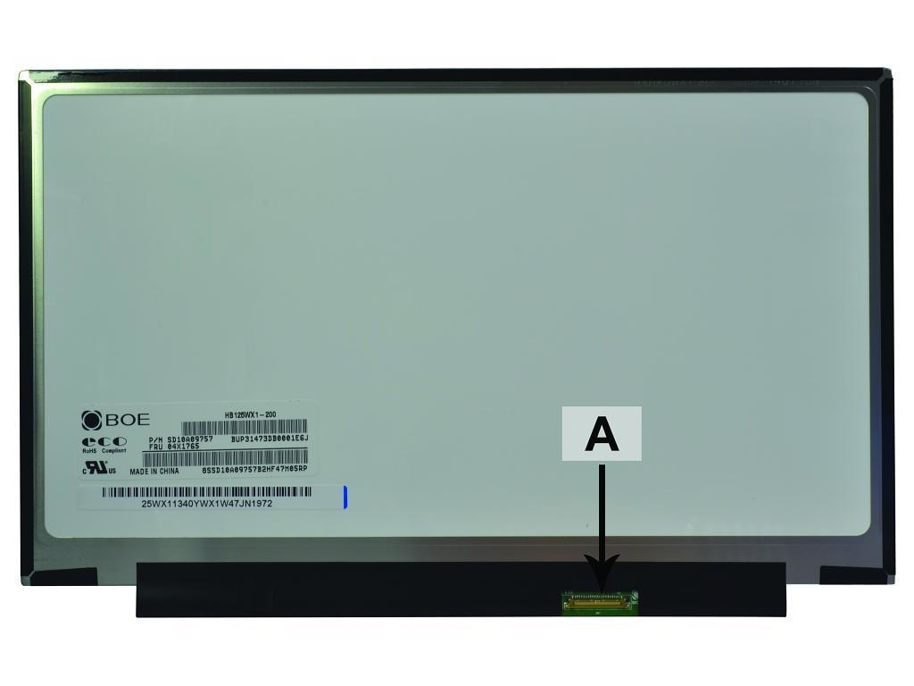 2-Power 12.5 1366x768 WXGA HD LED Matte Screen - replaces 04X1765