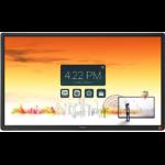 "CTOUCH Laser Sky 139.7 cm (55"") 3840 x 2160 pixels Multi-touch Multi-user Black"