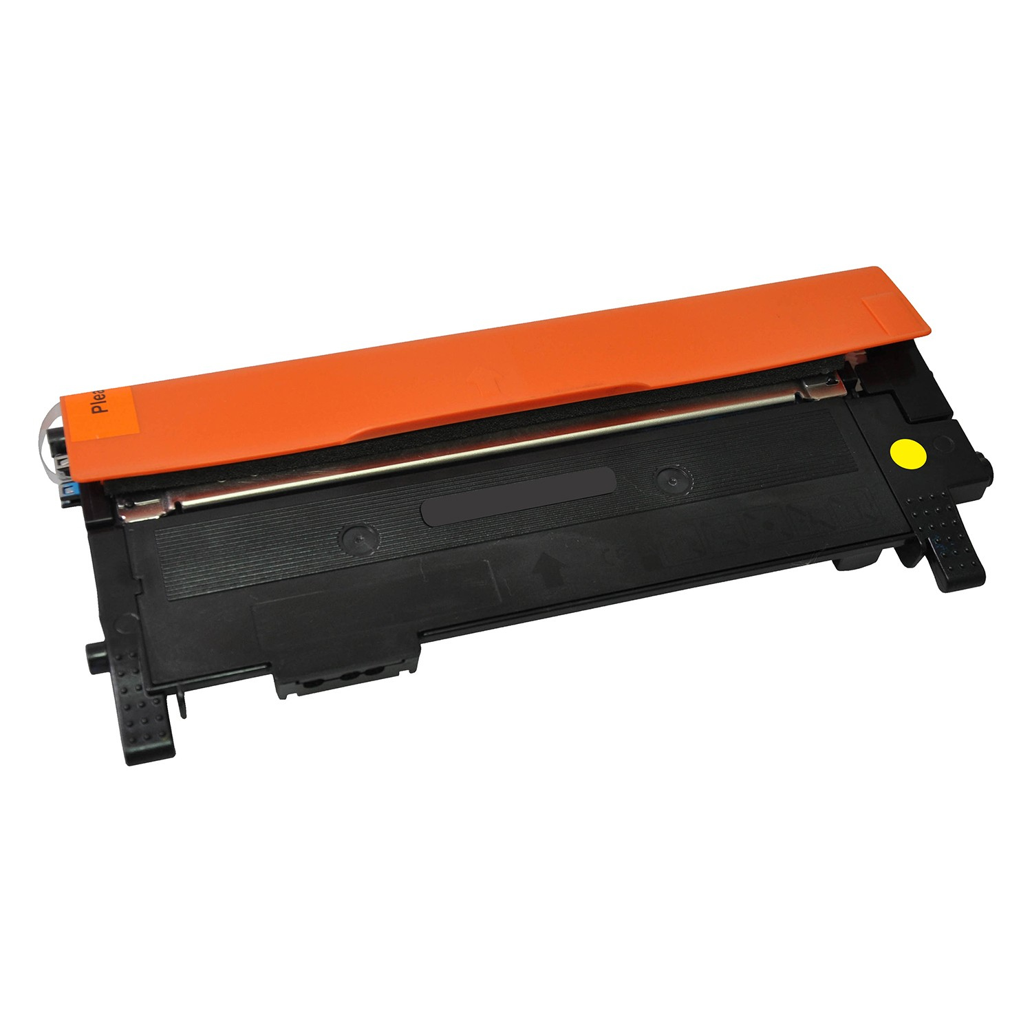 V7 Toner for selected Samsung printers - Replacement for OEM cartridge part number CLT-Y404S/ELS