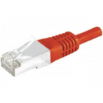 EXC 858305 networking cable 3 m Cat6a S/FTP (S-STP) Red