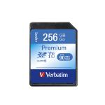 Verbatim Premium memory card 256 GB SDXC UHS-I Class 10