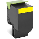 Lexmark 80C2HYE (802HY) Toner yellow, 3K pages