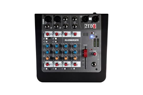 Allen & Heath ZED-6 6channels 10 - 20000Hz Black