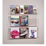 Safco Reveal literature rack