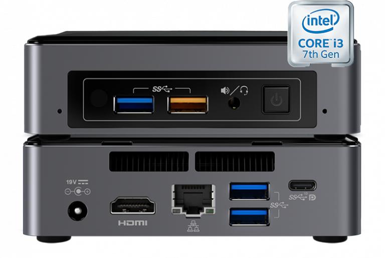 Media Vision VMP Core i5-7260U 4GB 128GB SATAIII 6Gbs digital media player 4096 x 2304 pixels Wi-Fi Black,Grey