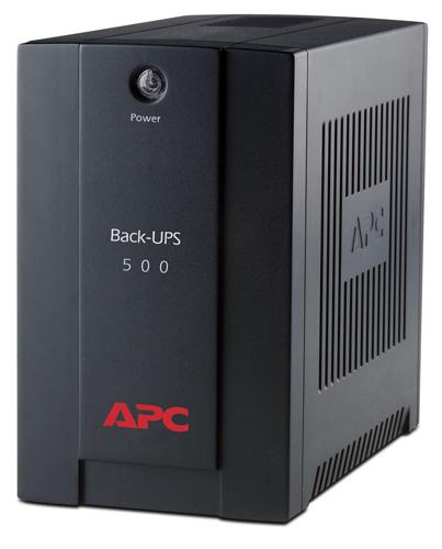 APC Back-UPS Line-Interactive 500VA Tower Black