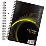 Cambridge EveryDay Notebook Wirebound Recycled 100 Pages 70gsm A5 Ref 400020509 [Pack 5