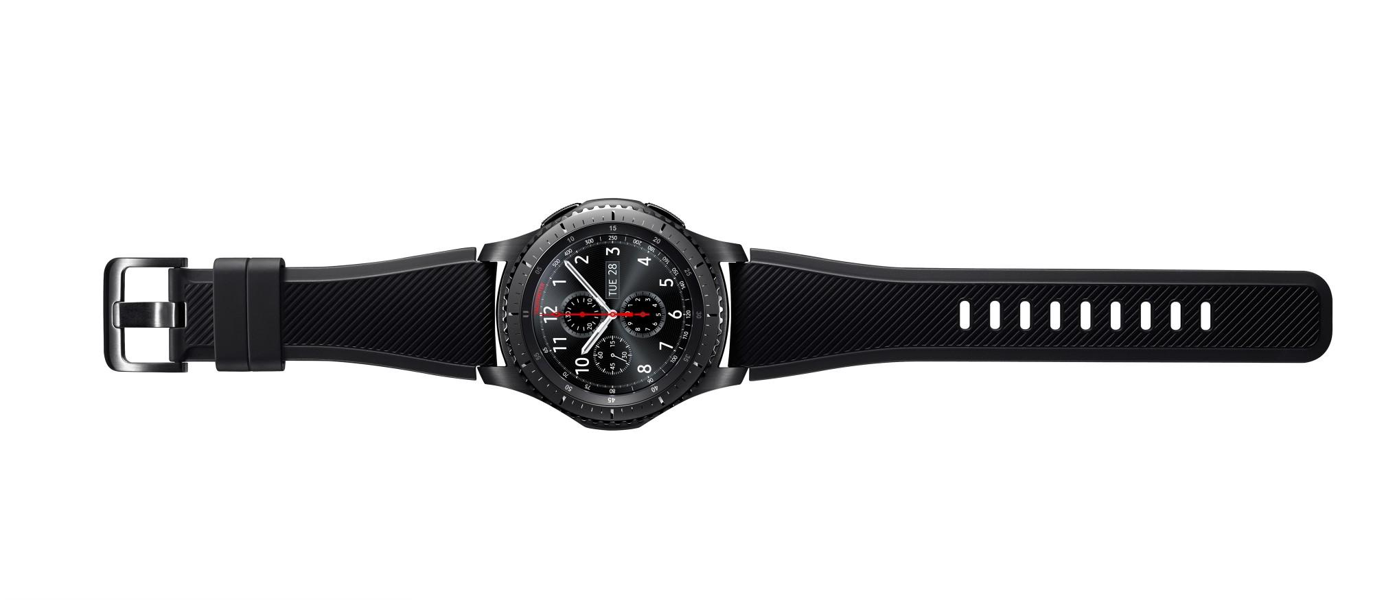 "Samsung Gear S3 Frontier 1.3"" SAMOLED 63g Black smartwatch"