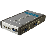 D-Link DKVM-4U Grey,Silver KVM switch