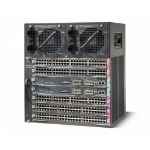 Cisco WS-C4507R+E= 11U Black network equipment chassis