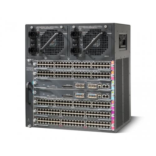 Cisco WS-C4507R+E= netwerkchassis 11U Zwart