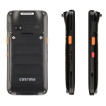 "CUSTOM RANGER PRO handheld mobile computer 12.7 cm (5"") 1280 x 720 pixels 250 g Black"