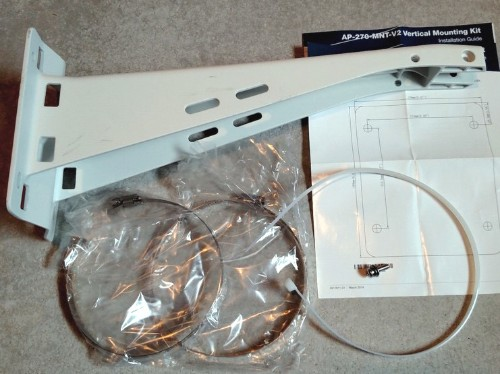 Aruba, a Hewlett Packard Enterprise company 270 Series Access Point Long Mount Kit