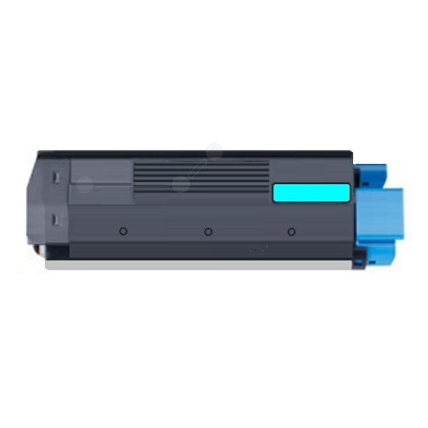 Dataproducts DPC5250CE compatible Toner cyan, 5K pages, 395gr (replaces OKI 42127456)