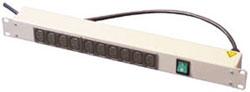 Lindy 29994 power distribution unit (PDU) Grey