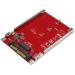 StarTech.com Tarjeta Adaptador PCI Express M.2 a U.2 SFF8639 para SSD NVMe M.2 - Conversor para SSD M.2 - Tarjeta Anfitrión para SSD M.2