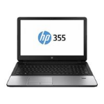 Hewlett Packard HP 355 G2 J0Y62EA AMD QC A4-6210 APU 4GB 500GB DVDRW 15.6IN BT CAM Win 7/8 Pro
