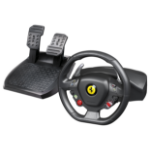 Thrustmaster Ferrari 458 Italia Steering wheel + Pedals PC Black