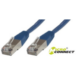 Microconnect SSTP CAT6 15M 15m Blue networking cable