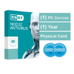 Eset NOD32 Antivirus (Essential Protection) OEM 1 Device 1 Year  - Includes 1x Physical Printed Download