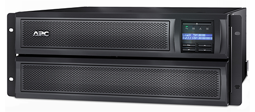 APC Smart-UPS Line-Interactive 2200VA 10AC outlet(s) Rackmount/Tower Black,Stainless steel uninterruptible power supply (UPS)