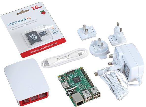 Raspberry Pi Official Starter Kit - White