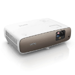 Benq W2700 data projector 2000 ANSI lumens DLP 2160p (3840x2160) 3D Desktop projector Brown,White