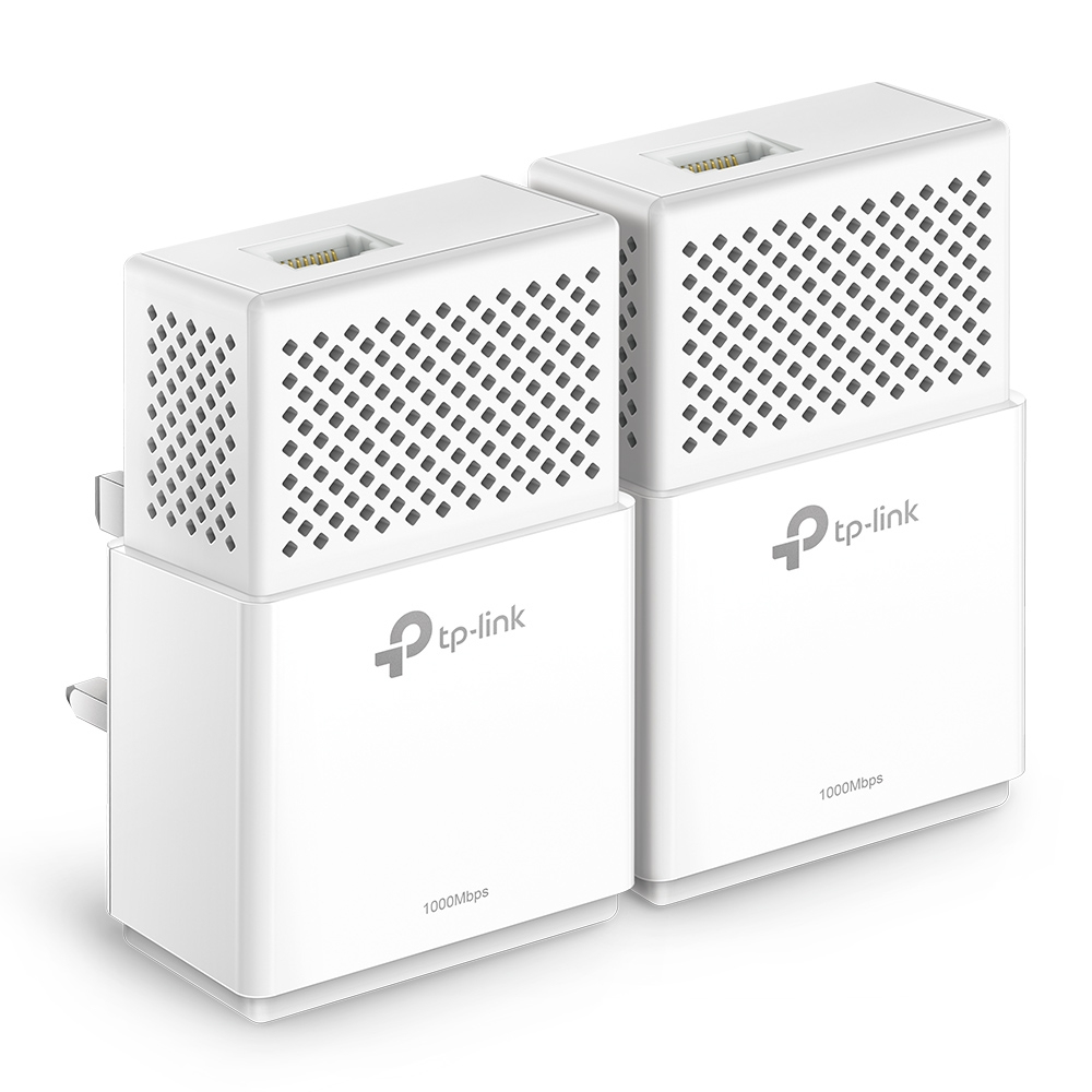 TP-LINK AV1000 1000 Mbit/s Ethernet LAN White 2 pc(s)
