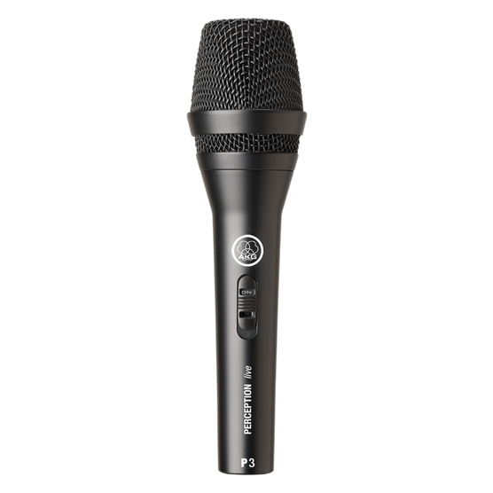 AKG P3S Studio microphone Black