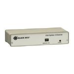 Black Box AC056AE-R4 video splitter VGA 2x VGA