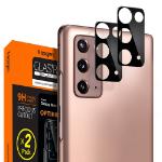 Spigen GLAS.tR Slim Zwart Gehard glas Samsung Galaxy Note 20 5G