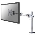 Newstar FPMA-D935G Flat panel Tischhalter 76,2 cm (30 Zoll) Silber