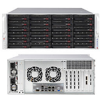 Supermicro SuperChassis 846BE1C-R1K23B Rack Black 1200 W