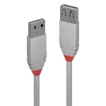 Lindy Anthra Line USB cable 2 m 2.0 USB A Grey 36713