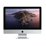 "Apple iMac 54.6 cm (21.5"") 1920 x 1080 pixels 7th gen Intel Core i5 8 GB DDR4-SDRAM 256 GB SSD Wi-Fi 5 (802.11ac) Silver All-in-One PC macOS Catalina 10.15 MHK03B/A"