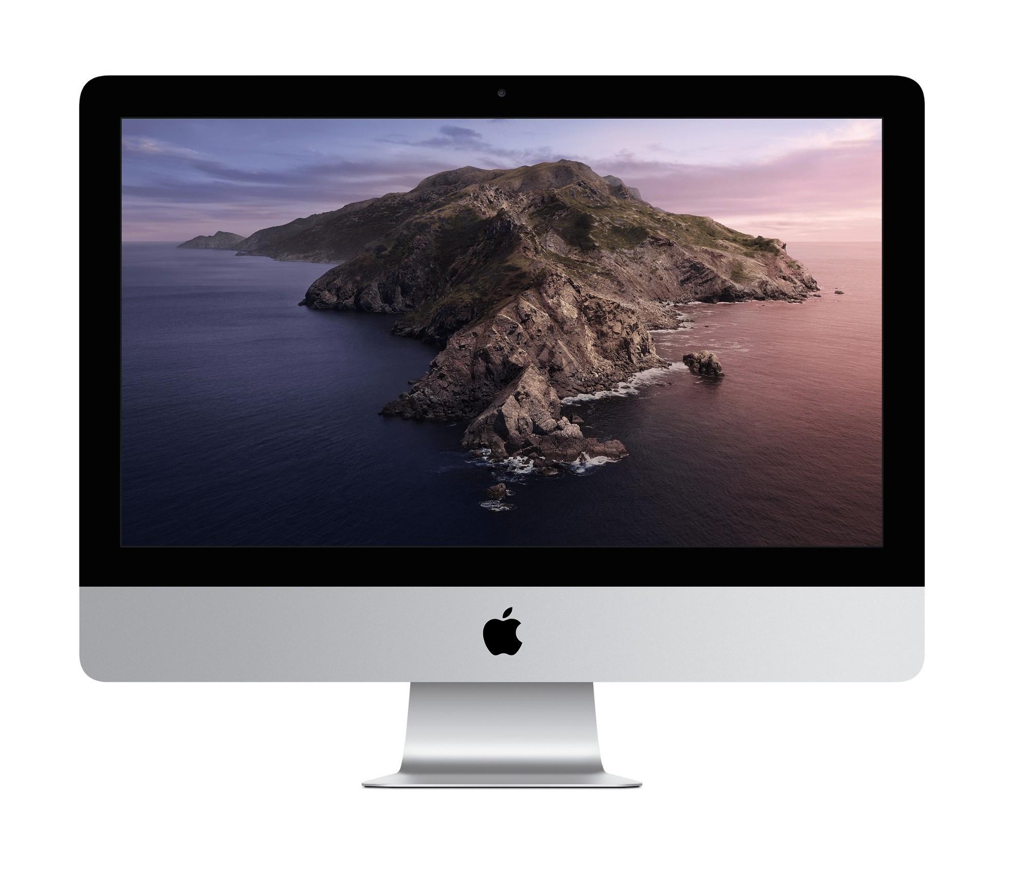 "Apple iMac 54.6 cm (21.5"") 1920 x 1080 pixels 7th gen Intel® Core™ i5 8 GB DDR4-SDRAM 256 GB SSD Wi-Fi 5 (802.11ac) Silver All-in-One PC macOS Catalina 10.15"