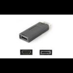 AddOn Networks DISPLAYPORT2HDMIADPT cable gender changer DisplayPort HDMI Black