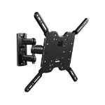 "Sanus Systems VuePoint F215c 47"" Black flat panel wall mount"