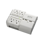 APC PE4WRU3 surge protector 4 AC outlet(s) 120 V White