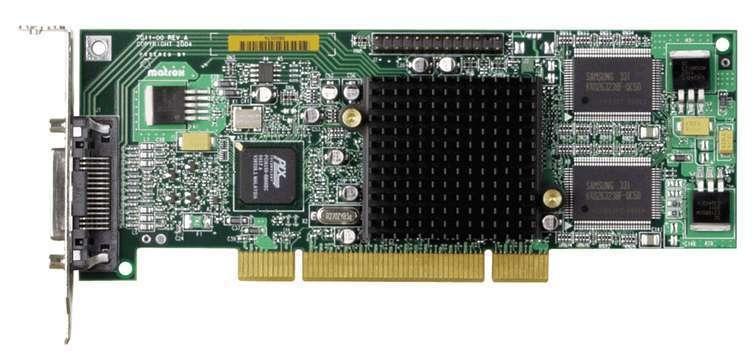 Matrox G55MDDAP32DSF graphics card GDDR