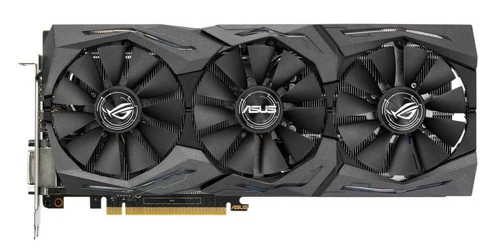 ASUS ROG STRIX-GTX1060-O6G-GAMING GeForce GTX 1060 6 GB GDDR5