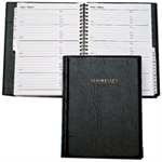 Collins Business Address Book Black personal organizer