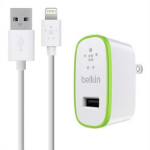 Belkin F8J125UK04 Auto White mobile device charger