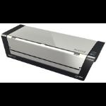 Leitz iLAM Touch Turbo Pro Hot laminator 2000mm/min Black, Silver
