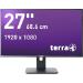 """Wortmann AG TERRA LED 2756W PV 27"""" Full HD AD-PLS Matt Black Flat computer monitor"""