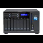 QNAP TVS-1282T3 Ethernet LAN Tower Black NAS