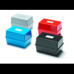 Deflecto Value Value Deflecto Card Index Box 5x3 Black CP010YTBLK