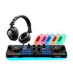 Hercules DJ Party Set DJ-controller Digital Vinyl System (DVS)-scratcher