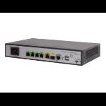 Hewlett Packard Enterprise MSR954 1GbE SFP 2GbE-WAN 4GbE-LAN CWv7 wired router Gigabit Ethernet Grey