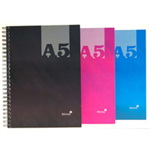 Silvine Luxpad Hardback Casebound Notebook 140 Pages A5 (12 Pack) THBA5AC